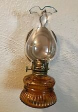 Vintage 8� 'Handy Lamp' Oil Lamp with Wall Hanging Or Table Top Capability