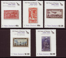 NEW ZEALAND 2005 150 YEARS NEW ZEALAND STAMPS SET OF 5 , UNMOUNTED MINT, MNH
