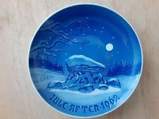 Vintage 1962 Christmas Plate