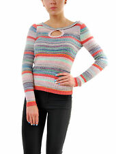 Free People Women's Sunshine Daydream Sweater Multi Color RRP £88 BCF69