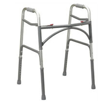 Bariatric Walking Frame Drive Medical Heavy Duty Folding Zimmer Frame 10220-2