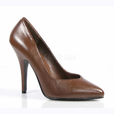 100% Leather Court Stiletto Formal Heels for Women
