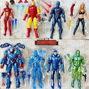 Marvel Legends Stealth Iron Man Ironheart Ultron Patriot no Ursa Major BAF UPICK