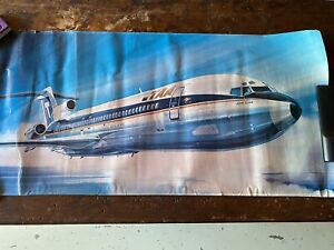TAA Trans Australa Airlines B727-200Adv Poster
