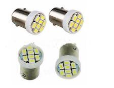 2x Bombillas LED BA9S t4w 8SMD Bombilla POSICION INTERIOR Matrícula luz blanco