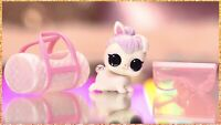 LOL Surprise Wave 2 LILS Snowy Hops Makeover Series 5 Easter Snow Bunny Pet NEW