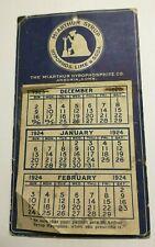 New listing 1924 Quack Medicine Calendar McArthur Syrup Hypophosphite Co. Ansonia, Conn