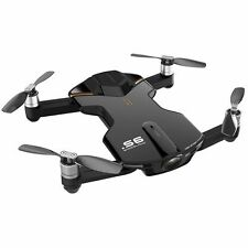 Wingsland S6 Black Outdoor Edition Black Mini Pocket 4K Camera Drone