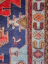 """C 1940 Taroon Kurdish Antique Persian Exquisite Hand Made Rug 4' 3"""" x 6' 7"""""""
