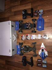2x TEAM ASSOCIATED 1:10 RC BUGGIES - B4.1 & B44.1 -BATTERIES-CONTROLLERS -SPARES