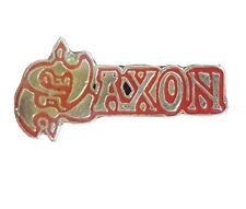 RARE COLLECTABLE Saxon Pin Badge Motorhead Judas Priest