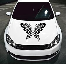 LARGE Car Bonnet Tribal Butterfly Car Vinyl Graphic Sticker Side Panel Decal 11
