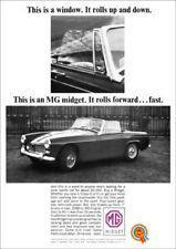 MG Midget Paper Car Sales Brochures