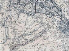 173 Jahre alte Landkarte PUNJAB Pandschab State of Sikhs Sikh Agra Amritsar 1844