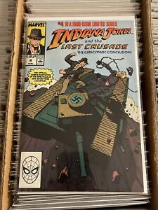 INDIANA JONES AND THE LAST CRUSADE #4 CONTROVERSIAL COVER harrison ford 1989