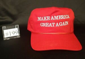 The Genuine Original Official MAGA Hat by Cali-Fame. Deep red variation. #199