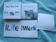 Apple Mac Box Set with Mac OS X Snow Leopard/iLife '09/iWork '09 - EXC