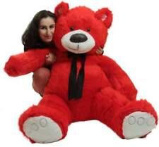 Giant Valentine Red Teddy Bear, Big Plush Soft Stuffed Animal Made in America