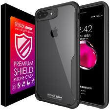 Noziroh Frame Cover Case Apple iPhone 8 7 Premium Super Silicone Bumper Design