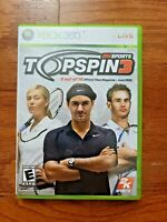 TOPSPIN 3 – MICROSOFT XBOX 360 – VIDEO GAME