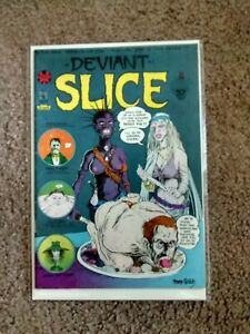DEVIANT SLICE #2- Gregory Irons & Tom Veitch, '73 PRINT MINT 1st Print*RARE+OOP!