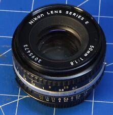 Nikon Lens Series E 50mm f1:8 SLR Film