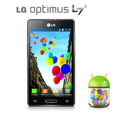 Original LG Optimus L7 II P710 unlocked WIFI 4.3 in GPS GSM 3G IPS 8MP Android
