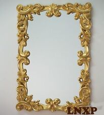 XXL Design Miroir Mural Antique Baroque Rococo 100x71 en or Miroir Woe
