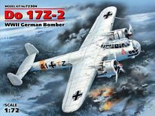 DORNIER Do-17 Z-2 BOMBER FIGHTER (LUFTWAFFE & CROAT AF MKGS) 1/72 ICM