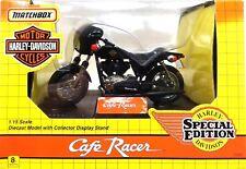 1993 Matchbox Harley Davidson  1:15 Special Edition Café Racer Motorcycle