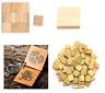 Bois Vierge Scrabble Tuiles pour Peinture Cadre Crafts Créacollage 1/2 /3/4/5