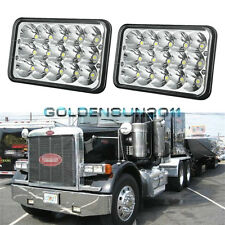 A Pair LED Headlights Sealed Beam Headlamps For FREIGHTLINER FLD120 112 FLD 2pcs