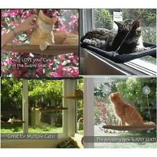 Kitty Cat Basking Window Hammock Mounted Perch Cushion Bed Hanging Shelf Seat EE