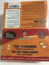 Gogold Toe And Hand Warmer 40 Pairs (32 Toe & 8 Hand)