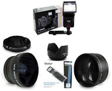 NIKON D90 D5300 D3200 D5100 D5200 D7100 Lens  FLASH   SHIPS FAST USA SELLER