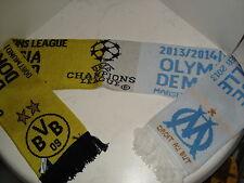 Begegnungsschal B.Dortmund-Olympique Marseille Championsleague 2013/14 Fanartike