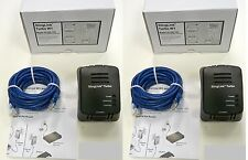 2 Dish Network Slinglink Turbo W1 SL300-100 Ethernet Sling Link Adapter 157089