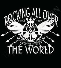 STATUS QUO Camiseta Inspiración Mecedora Todo the world xxxl xxxxl xxxxxl ROCK