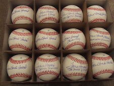 Frank Howard Signed Autographed Baseball Sale - 12 Balls - W/Inscriptions w/COAs