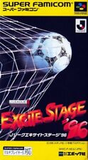 J League Excite Stage 96 NTSC Import Japan SNES Super Nintendo NES Famicom SFC