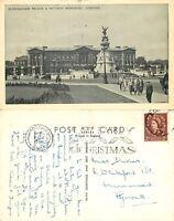 s09967 Buckingham Palace, London, England postcard posted 1956 stamp