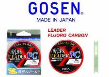 Gosen GL-103 #5.0/20lb/30m 100% Fluorocarbon Leader FC Fishing Line (Clear)