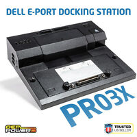 Dell Latitude E5440 E5430 E5530 E6330 E6430 E-Port Replicator Dock Station PR03X