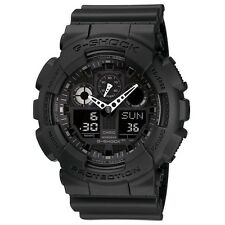 BRAND NEW CASIO G-SHOCK GA100-1A1 MEN'S BLACK ANA-DIGI WATCH NWT!!!!