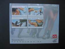 NUOVA Zelanda 1992 GIOCHI OLIMPICI BARCELLONA in miniatura foglio NHM SG MS1674