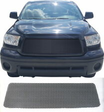 CCG PERF SS FLAT BLACK PRE-CUT MESH GRILL GRILLE FOR A 2010-2013 TOYOTA TUNDRA