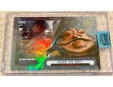 Toby Philpott as Jabba The Hutt 2018 Star Wars Archives Signature Autograph /16
