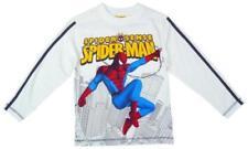 T-shirts, débardeurs et chemises blanches Marvel pour garçon de 2 à 16 ans