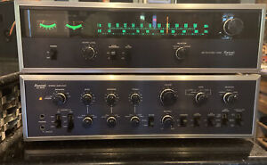 SANSUI AU-9500 Amplifier & Matching Tuner TU-9500 VERY CLEAN!! ORIGINAL BOXES!