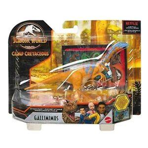 Jurassic World Camp Cretaceous GALLIMIMUS Attack Pack Dinosaur Figure NETFLIX